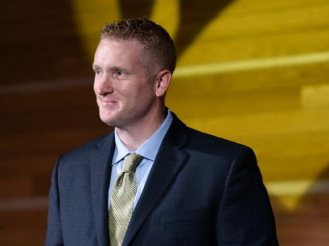 Montana State Univesity names Kyle Brennan new athletics director Monday, May 2, 2016 in Bozeman, Mont. MSU photo by Kelly Gorham