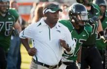 Portland State head coach Nigel Burton is 12-19 in three seasons.