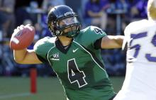 Portland State true freshman quarterback Kiran McDonagh, a 6-foot-1, 240-pound bruiser, is one of the top dual-threat quarterbacks in the Big Sky.